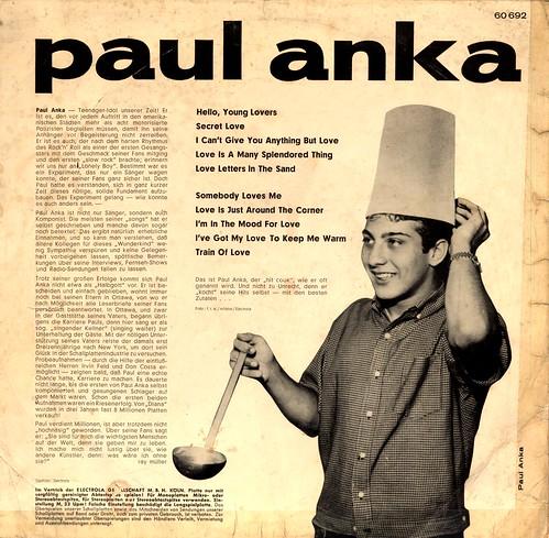 1960 - Anka, Paul - Paul Anka - D-