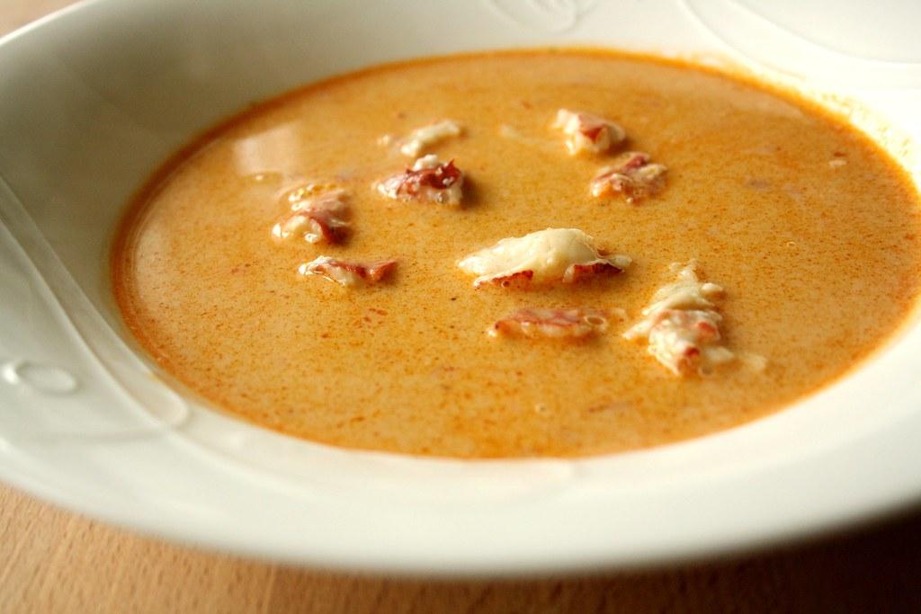 Lobster B Soup Lobster Bisque
