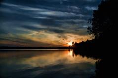 Canada sunset (xhunter83) Tags: sunset lake canada reflection landscape lago atardecer paisaje reflejo platinumphoto flickrdiamond platinumsuperstar