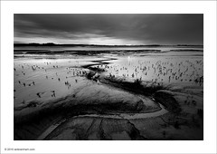 River Wyre Sunrise (Ian Bramham) Tags: bw sunrise river landscape photography dawn book photo nikon fineart wabisabi mudflats blurb gully wyre d700 ianbramham nikondslrforum 1635vr asweseeit2010