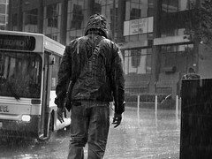 brief downpour (Mike Ashton) Tags: city urban bus rain blackwhite birmingham miserable soaking dapagroupmeritaward dapagroupmeritaward2