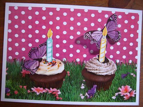 DIY Geburtstagskarte 2