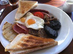 Constitution breakfast at Constitution Bar in Leith, Edinburgh
