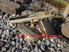 Assembled Gold Desert Eagle (PureGoldPlating) Tags: deserteagle 357magnum goldplatedgun goldbbgun