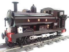 Pannier Tank 0-6-0 (bricktrix) Tags: train lego panniertank legorailway