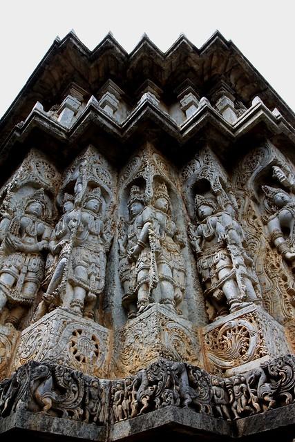 Hoysaleswara Temple, Halebid (Karnataka)