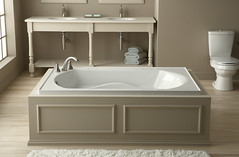 Lawson 42-inch Bath (KohlerCo) Tags: bathroom bath sterling remodel kohler