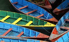 Colourful Boats (Peter Akkermans) Tags: nepal lake water digital maastricht boats photography boat photo colorful colours foto fotografie photographer minolta picture colourful pokhara phewa tal konicaminolta imagesgooglecom fotograaf googlecom yahoocom dynax5d peterakkermans fotoakkermansnl