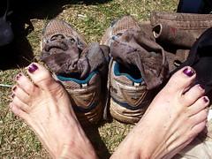 365days-day53-muddy (daradactyl) Tags: shoes 10k muddy camppendletonmudrun smellslikesulfer nevergetthatoff wrinkledtoes