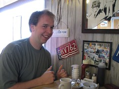 Michigan table at the restaurant (Kitty250) Tags: puntagorda staugustine flaglerbeach palmcoast