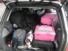 That's not my Pink Luggage! (robr3004) Tags: mini icecream cooper tgicr thegreaticecreamrun