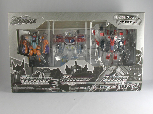 Takara Galaxy Force Megatron, Convoy, Starscream (Legends)