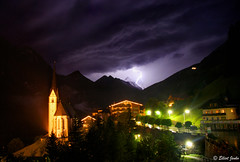 The Power And The Glory (elliot23) Tags: storm mountains rain night clouds quality lightning thunder austrias groglockner heiligenblut aplusphoto