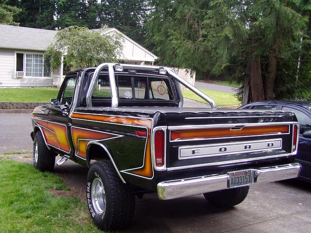ford 4x4 f150 1978 custom