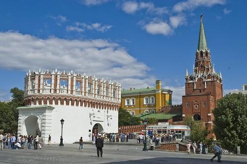 הכניסה לקרמלין משער קוטפיה, מוסקבה