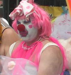 scary pride clown