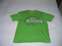 this shirt is NOT maize and blue