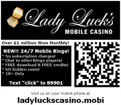 LadyLucksCasino.mobi - A Mobile Phone Casino