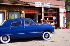 Route 66 Gas Station Museum, Williams, AZ (Jay Tilston) Tags: arizona car route66 williams