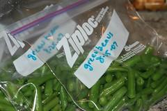 beans in baggies