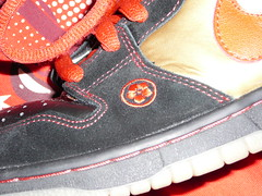 Nike Dunk SB -  Back Off Evil