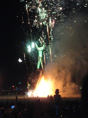The Man Burns, Burning Man 2007