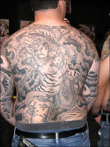 Moko Style Tattooing · Pieta Tattoo · Chinese God of War Backpiece
