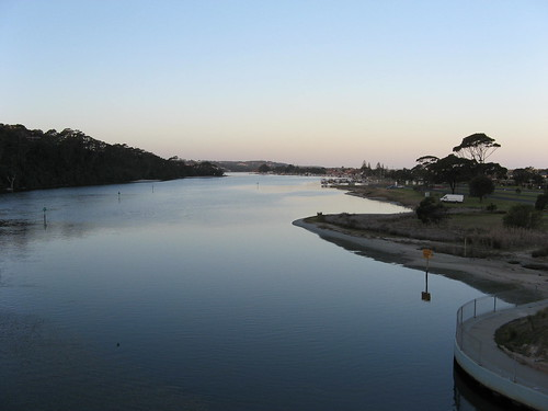 Lakes Entrance North Arm at Sunset