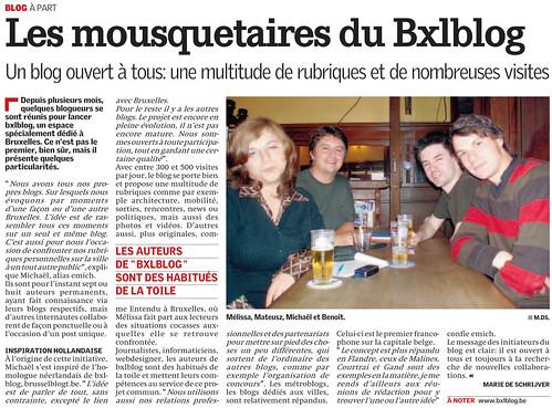 La Capitale 13/09/07 - bxl.blog