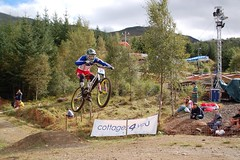 UCIFtBillDH39 (wunnspeed) Tags: scotland europe mountainbike downhill worldcup fortwilliam uci