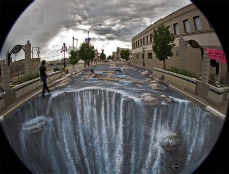 Impresionantes grafitis 3D