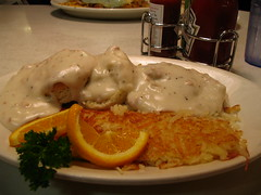 No. 5, Biscuits, Gravy & Hashbrowns