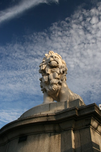Lion on the Southbank