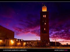 LA KOUTOUBIA (MARRAKECH. MARRUECOS) (MIGUEL_CD) Tags: tokina1224 mosque morocco maroc marrakech mezquita marruecos koutoubia mosque kutubia minarete alminar 5photosaday abigfave kutubiya eos40d
