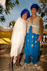Mother & Son (gurbir singh brar) Tags: india mother son warriors sikhs punjab 2009 khalsa brar gurbir nihangs holamohalla gurbirsinghbrar gurbirsingh
