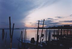 Tramonto (fiore56) Tags: sunset tramonto nuvole barche laguna paesaggi