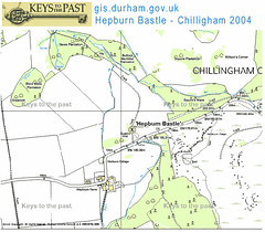 hepburn map bastle and chillingham