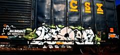 IMG_5492 (mightyquinninwky) Tags: railroad graffiti tag graf tracks railway tags tagged railcar rails boxcar graff graphiti freight trainart fr8 railart boxcarart freightart taggedboxcar paintedboxcar paintedrailcar taggedrailcar