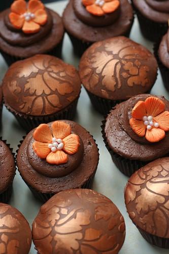 Autumn Wedding Cupcakes