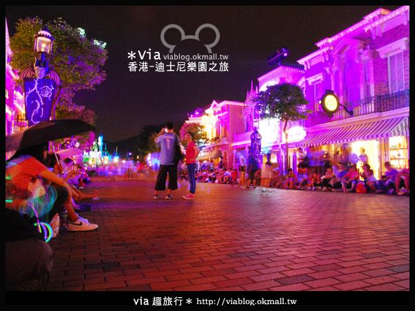 【香港旅遊】跟著via玩香港(2)~迪士尼萬聖節夜間遊行超精彩!2
