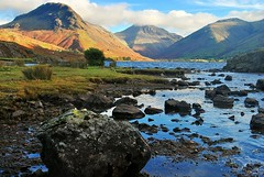 Wast water,Cumbria (Graham - bell) Tags: sky mountains water clouds rocks lakes cumbria wast eskdale
