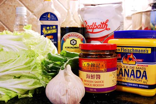 Shanghai Noodles Ingredients