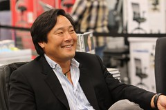 A Great Smile! Chef Ming Tsai (Baking is my Zen) Tags: smile chef samsclub edisonnj carmenortiz canonrebelt1i bakingismyzen chefmingtai