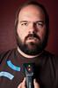 312/365 - Stud Finder (Micah Taylor) Tags: red man green beard lights joke led redwall finder stud project365