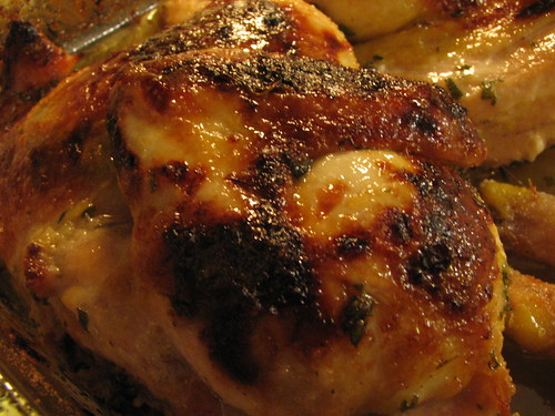 Citrus & Herb Glazed Cornish Hen