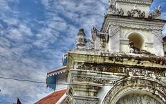 Wat Chiang Yeun, old Burmese gate