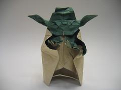 Yoda (PhillipWest) Tags: origami paperfolding papiroflexia