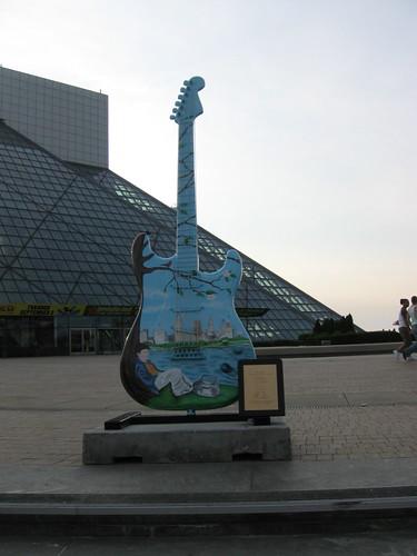 Guitarra de ceramica