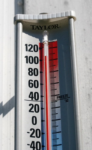 thermometer (hot)