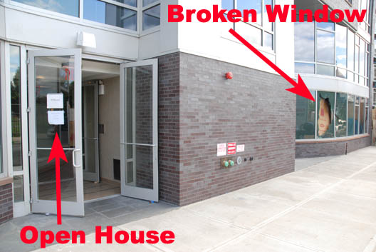 Open House-Broken Window